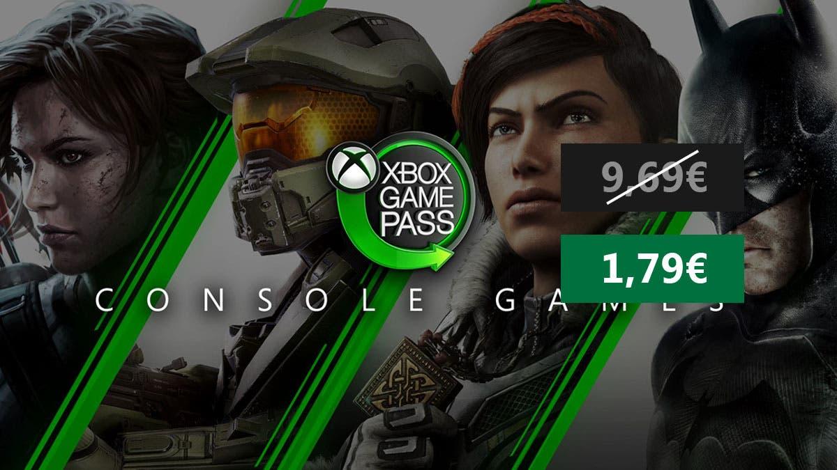 Consigue 1 mes de Xbox Game Pass por solo 1,79 € 9