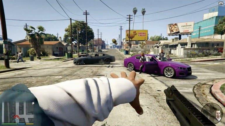 Un mod nos permite jugar a GTA V en realidad virtual