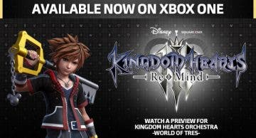 Kingdom Hearts III Re Mind ya disponible en Xbox One 3