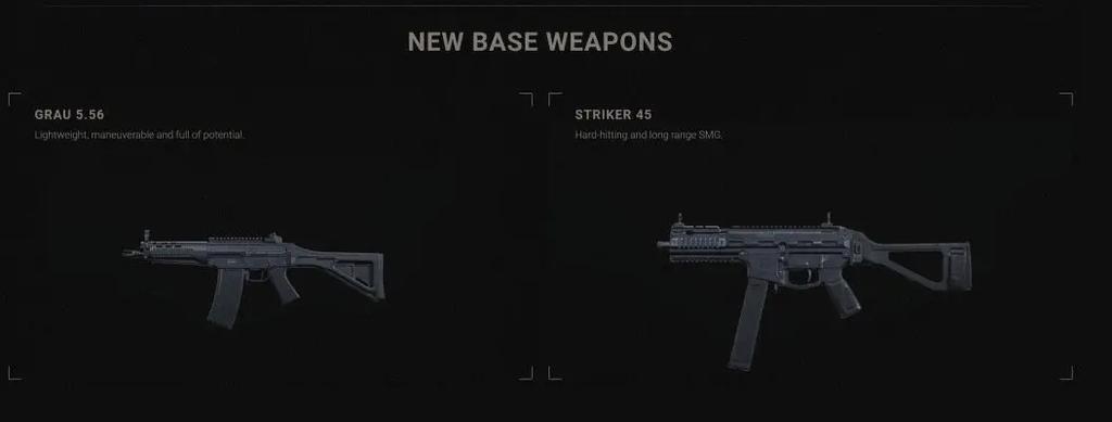 Armas filtradas de, la segunda temporada de Call of Duty: Modern Warfare