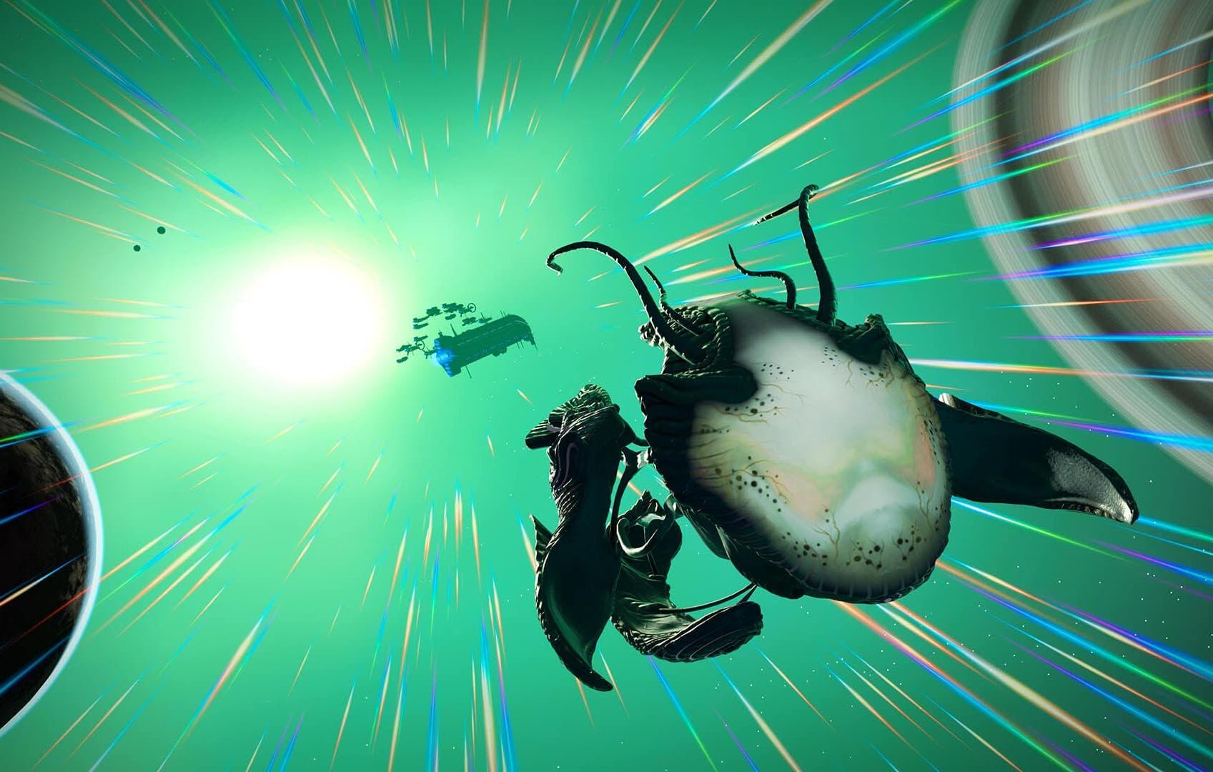 No Man's Sky presenta Living Ship, una nueva actualización repleta de contenido 3