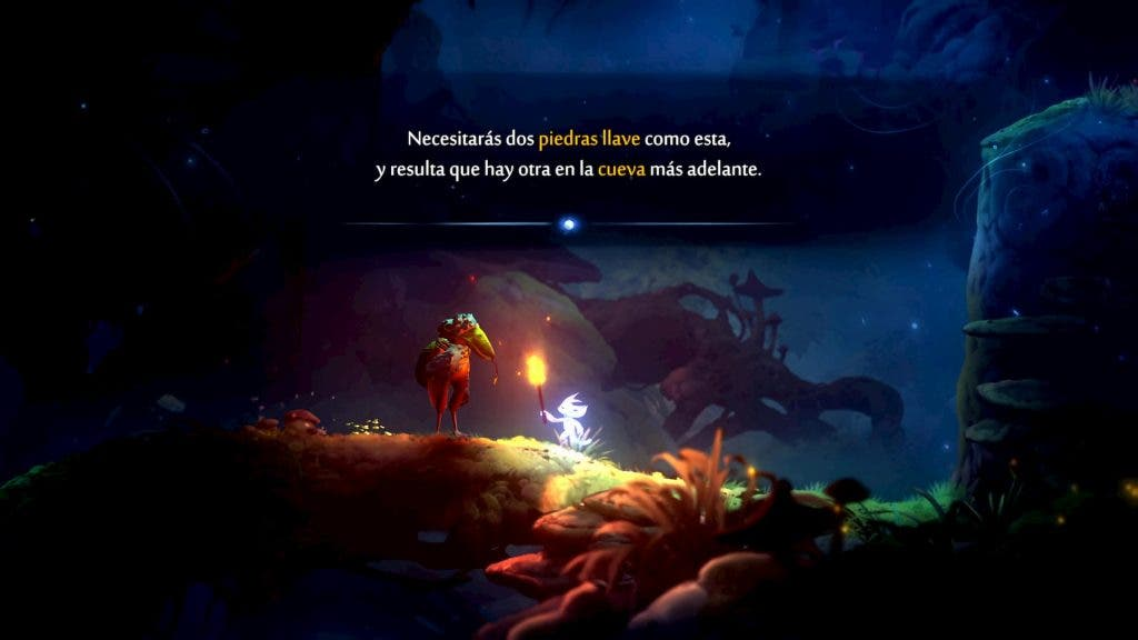 Captura de pantalla de Ori and the Will of the Wisps
