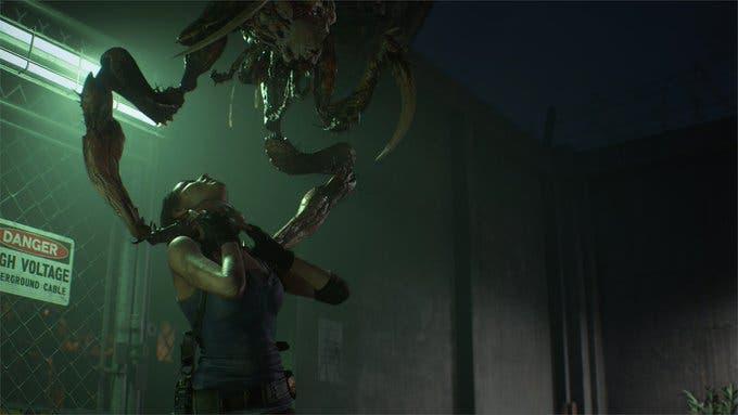 Más detalles del nuevo enemigo de Resident Evil 3, Drain Deimos 2