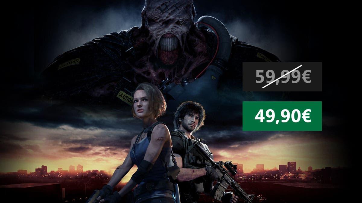 Pre-compra Resident Evil 3 Remake a un precio interesante 4