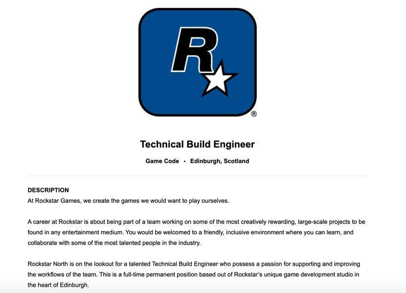 Una nueva oferta de trabajo de Rockstar Games genera especulaciones sobre el lanzamiento de GTA VI