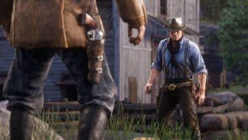 Los jugadores de Red Dead Online consiguen batirse en duelos, aún sin existir tal sistema 3