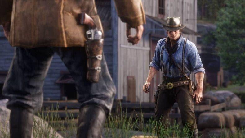 Los jugadores de Red Dead Online consiguen batirse en duelos, aún sin existir tal sistema 1