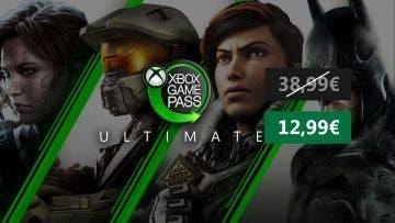 Consigue 3 meses de Xbox Game Pass Ultimate a un precio increíble 12