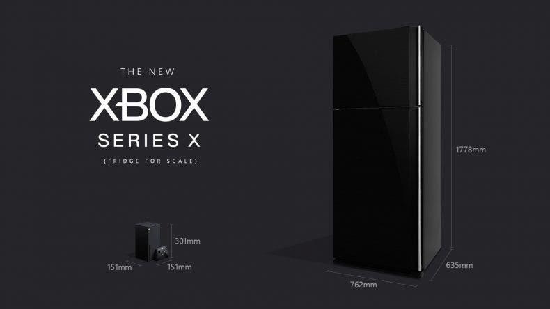 Microsoft compara la Xbox Series X con un frigorífico 1