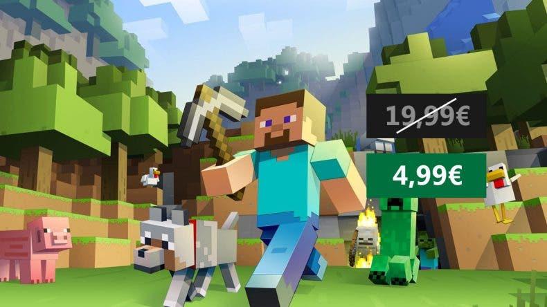 Minecraft para Xbox One a un precio increíble 1