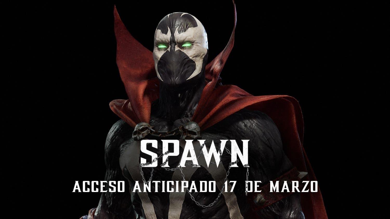 nuevo trailer gameplay de spawn en mortal kombat 11