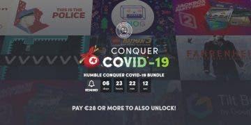 Humble Bundle presenta un extenso pack para ayudar a combatir el COVID-19 2