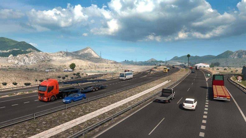 Así luce el Desierto de Tabernas en Euro Truck Simulator 2 para la expansión de Iberia 1