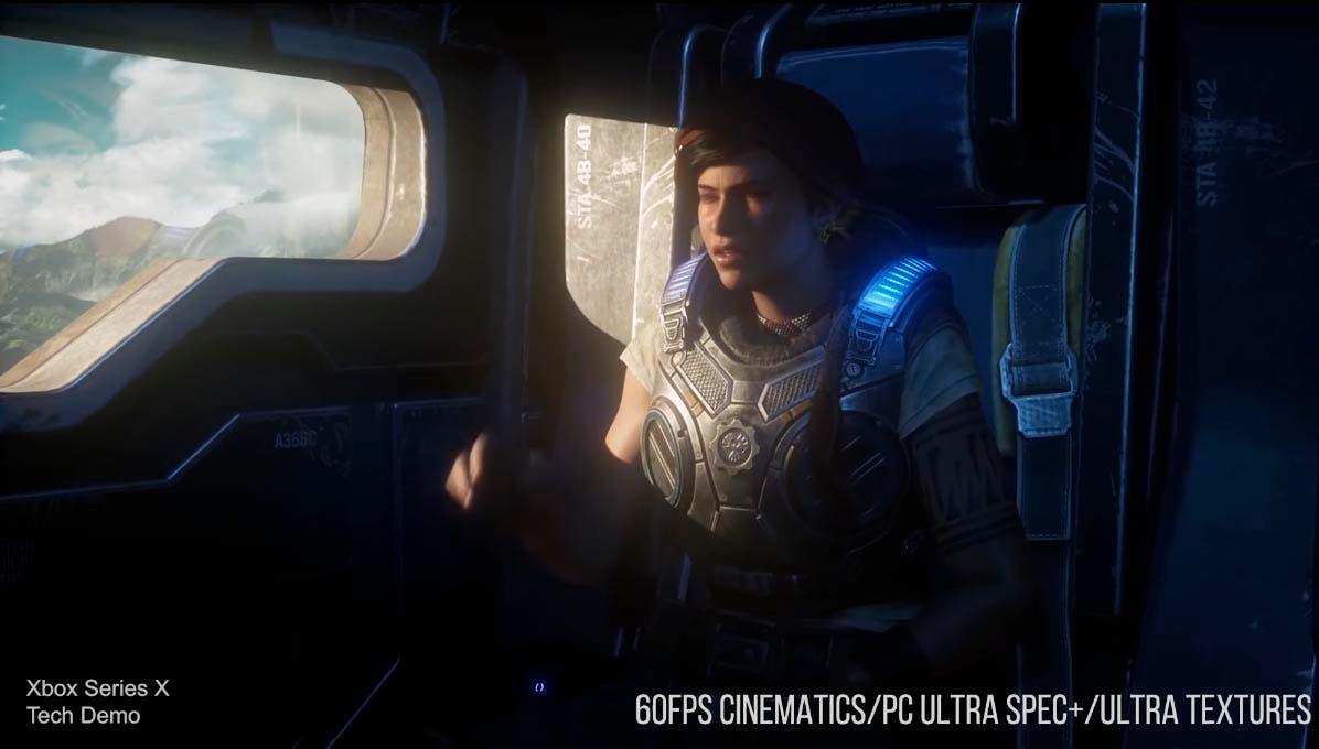 Analizan el rendimiento y las mejoras de Gears 5 en Xbox Series X 2