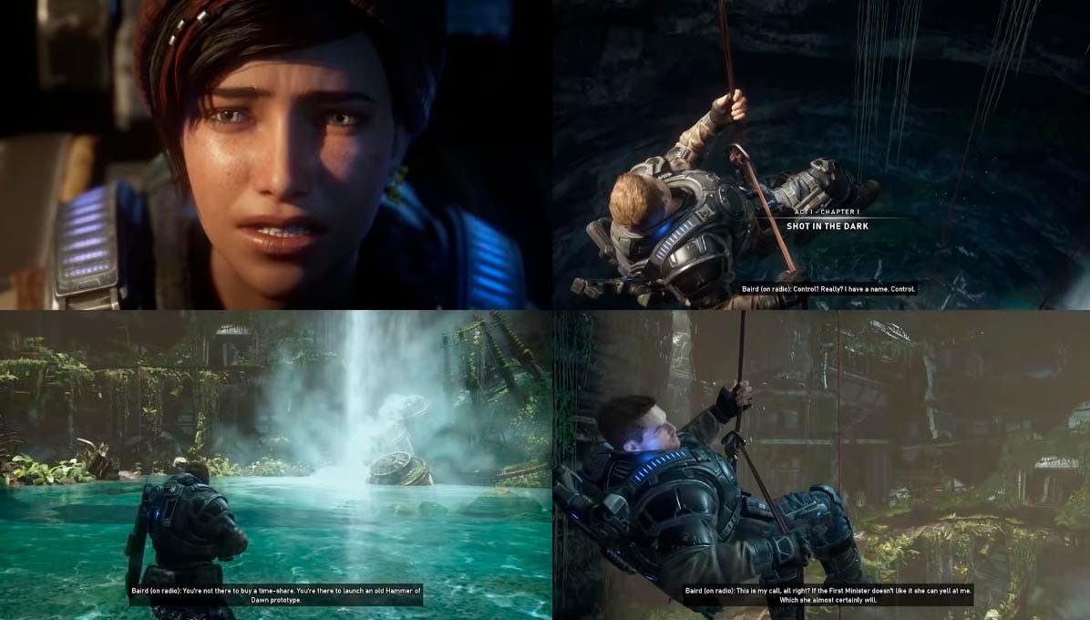 The Coalition presentará Gears 5 en Xbox Series X este mismo jueves 2