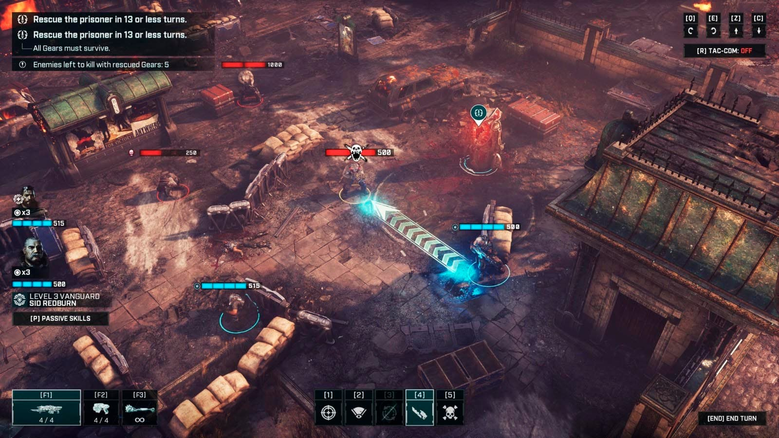 La estrategia de Gears Tactics se inspiró en los juegos de mesa 2