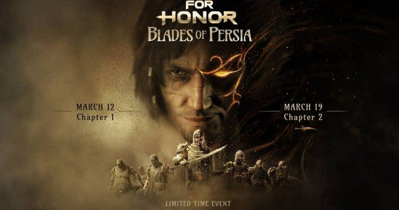 La saga Prince of Persia y For Honor cruzan sus universos en un especial evento llamado Espadas de Persia