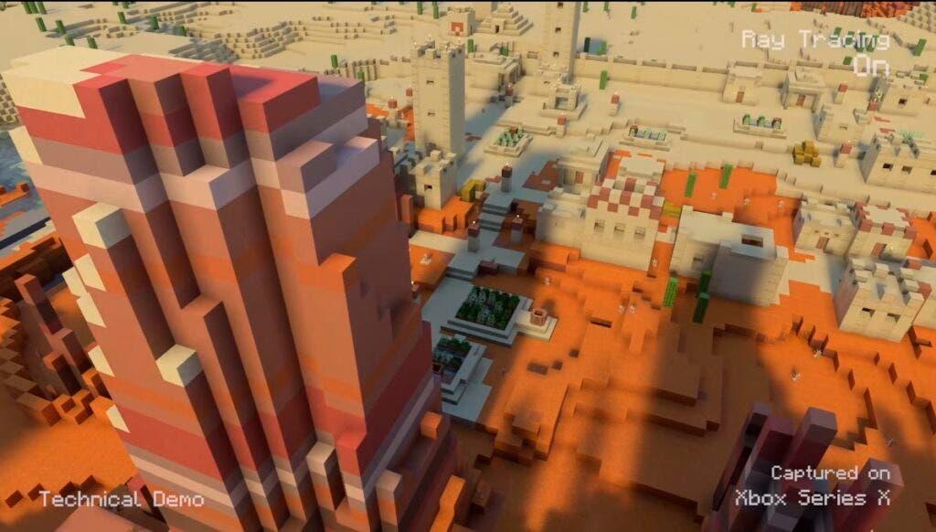 Digital Foundry analizaMinecraft con Ray Tracing en Xbox Series X