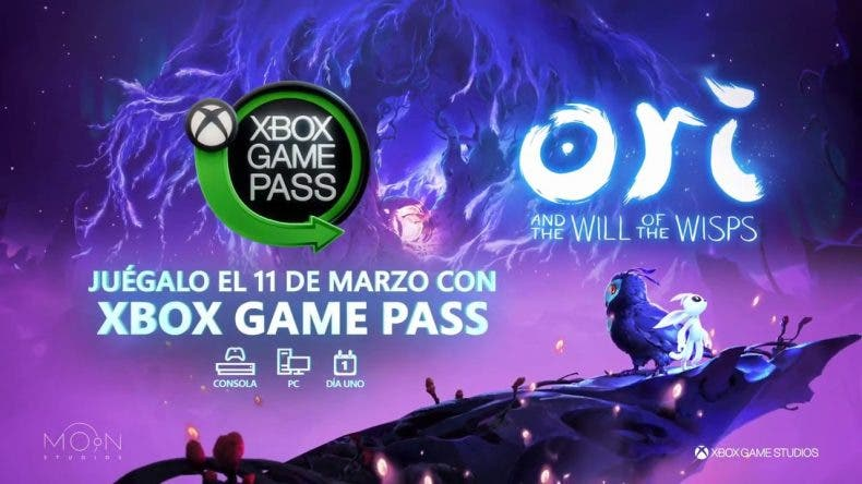 Ori and the Will of the Wisps ya está disponible en Xbox Game Pass
