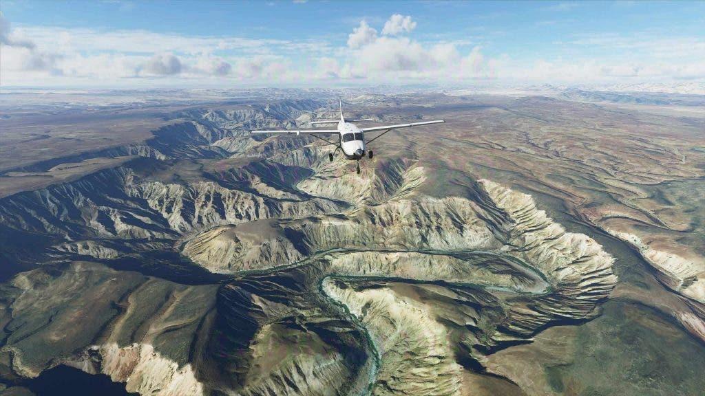 Disfruta del fotorrealismo en las nuevas imágenes de Microsoft Flight Simulator 7