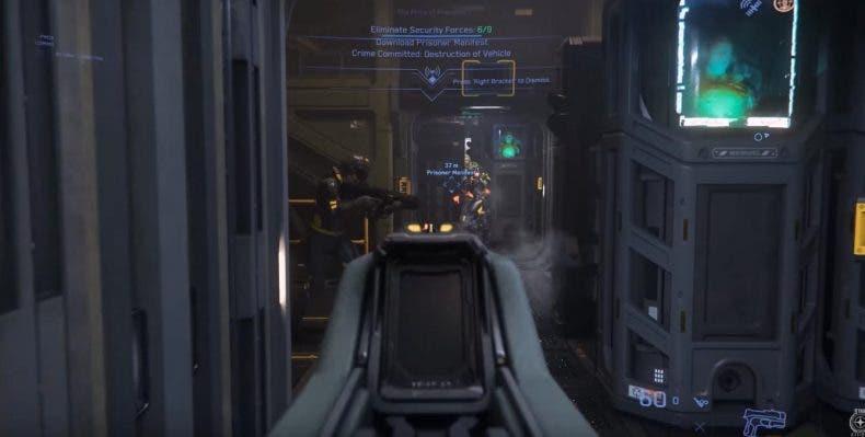 Star Citizen presenta un sistema avanzado de misiones de acción para incluirlas en un futuro 1