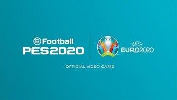 La UEFA EURO 2020 llegará a eFootball PES 2020 en abril 4