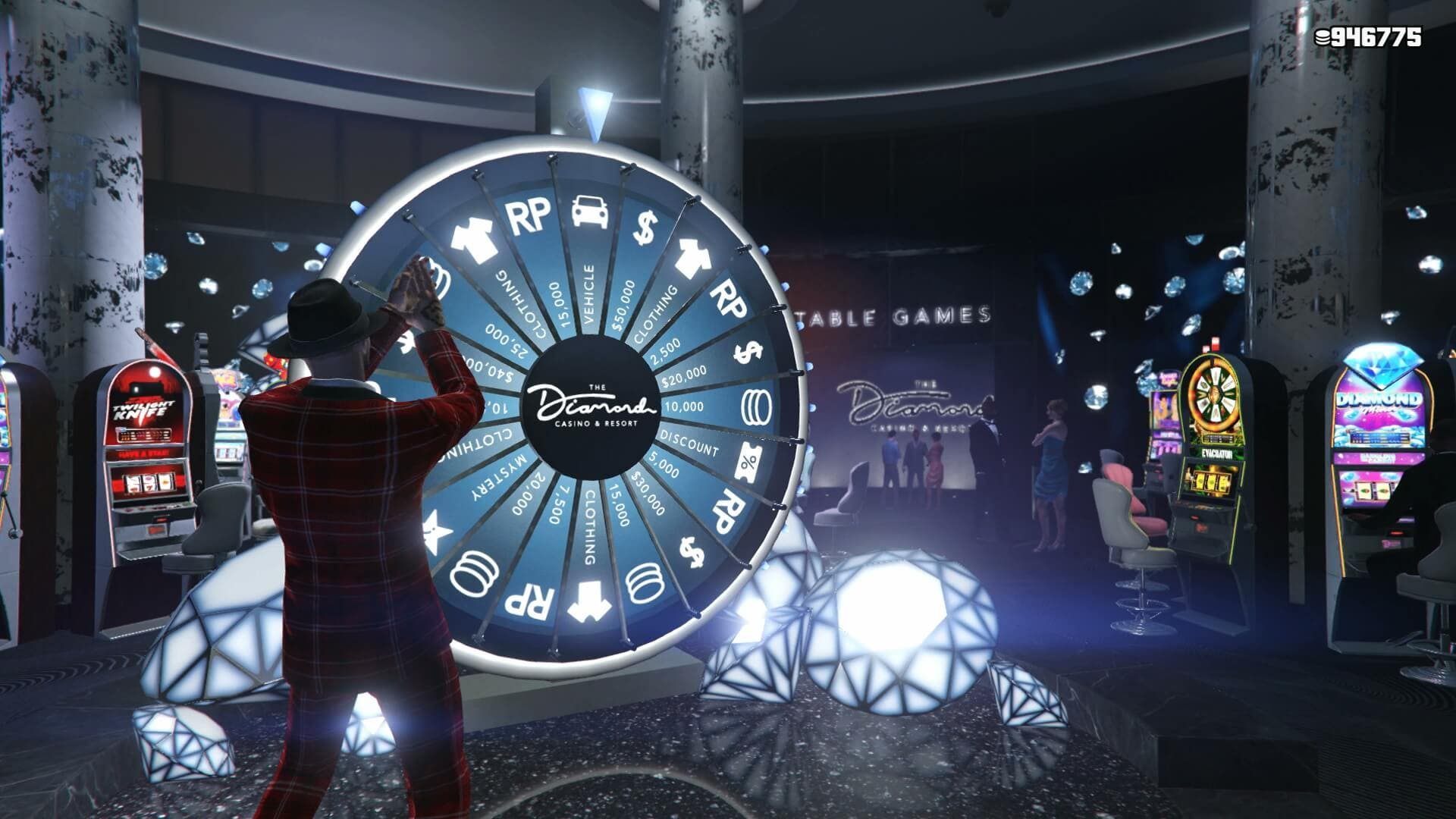 Un glitch nos permite conseguir cualquier premio de la ruleta del Casino Diamond en GTA V Online