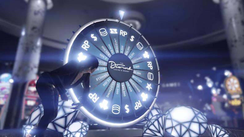 Un glitch nos permite ganar el premio del coche en la ruleta del Casino Diamond en GTA V Online