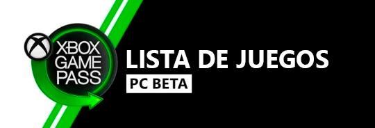 Lista de juegos Xbox Game Pass Xbox One