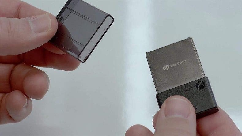 Los juegos de Xbox Series X requieren el uso del disco duro interno o de las tarjetas de expansión 1