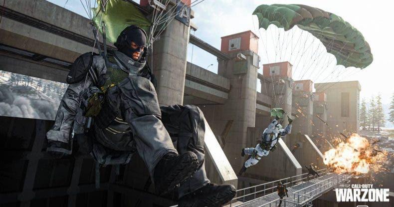Esta sórdida táctica en Call of Duty Warzone nos permite matar enemigos antes de tocar el suelo