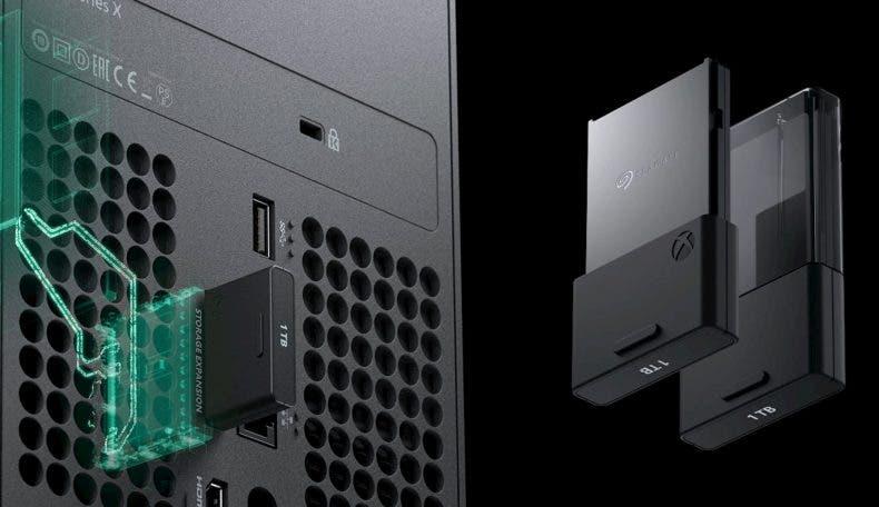Este es el espacio disponible que tendrá Xbox Series X 1
