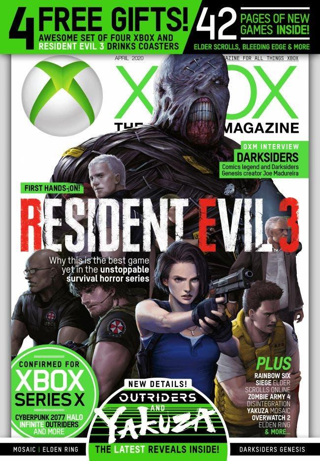 Resident Evil 3 Remake ofrecerá la acción de terror y supervivencia más desafiante hasta el momento, según Xbox Magazine