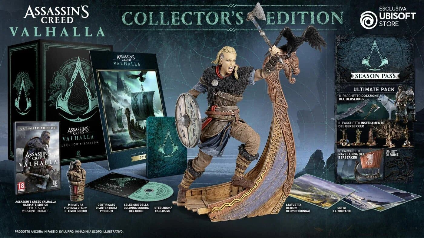 Estas son las distintas ediciones y contenidos que traerá Assassin's Creed Valhalla