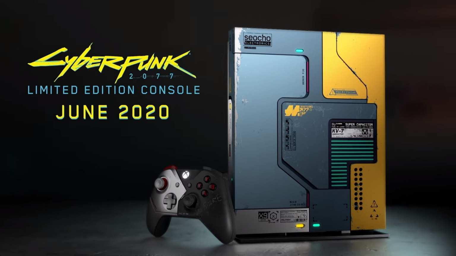 Así luce el bundle de Xbox One X de Cyberpunk 2077 que verá la luz este verano 2