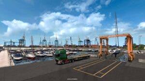 Euro Truck Simulator 2 describe la importancia de los puertos marítimos en la expansión Iberia 4