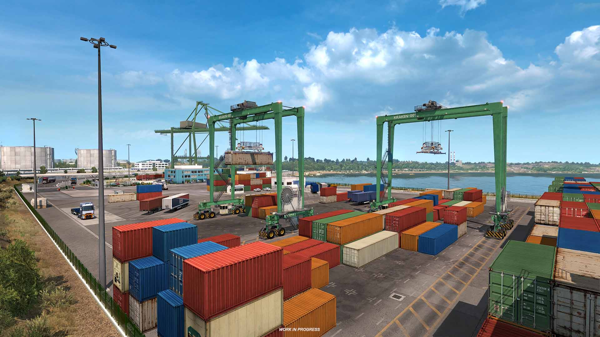 Euro Truck Simulator 2 describe la importancia de los puertos marítimos en la expansión Iberia 2