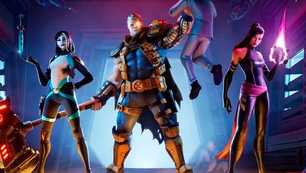 Los miembros de X-Force se unen a Fortnite con sus skins 1