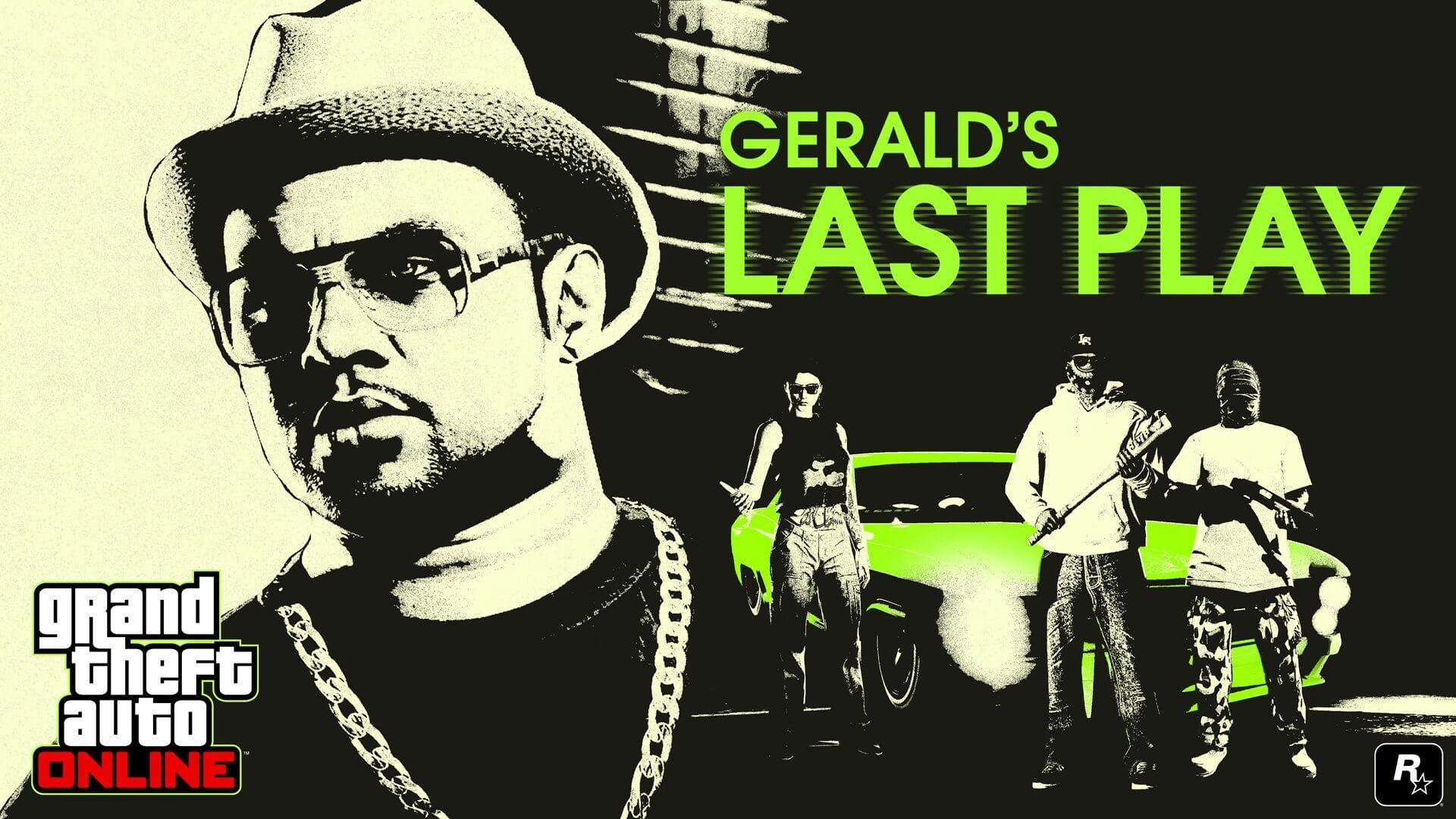 Gerald's Last Play trae nuevas misiones para GTA Online