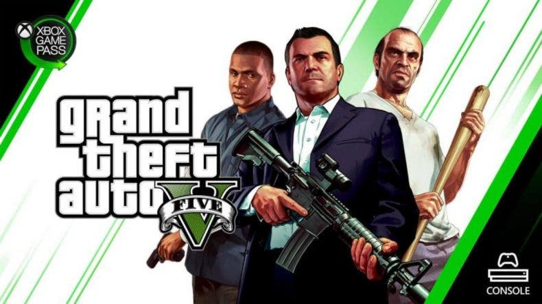 GTA V saldrá muy pronto de Xbox Game Pass