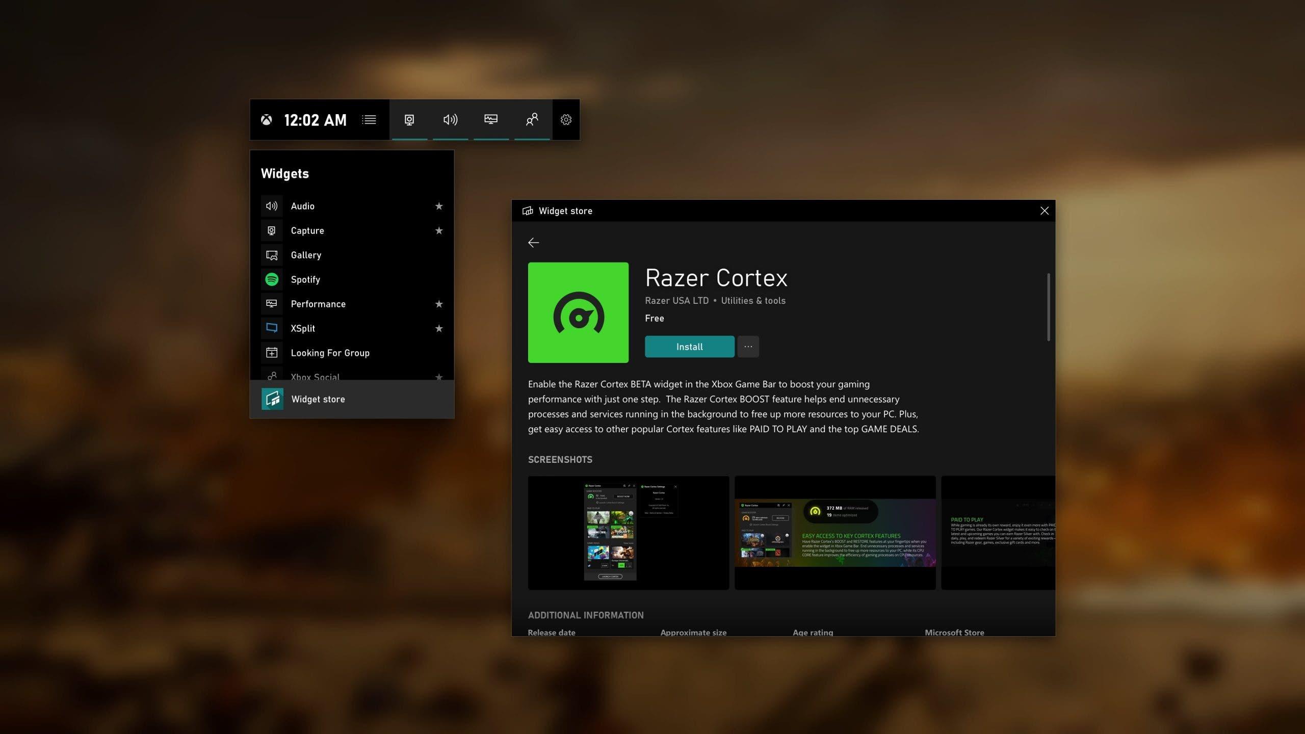 Microsoft ha presentado cambios significativos en Xbox Game Bar de Windows 10