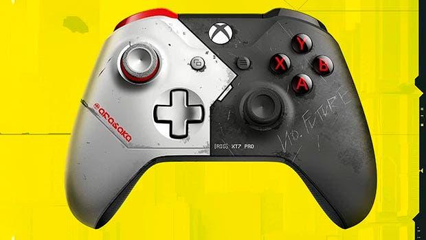 Una tienda digital presenta el mando oficial de Xbox basado en Cyberpunk 2077 1