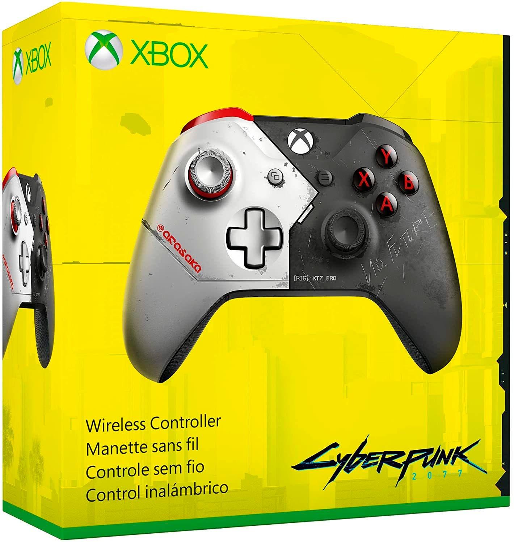 Una tienda digital presenta el mando oficial de Xbox basado en Cyberpunk 2077 2