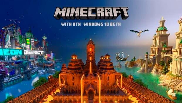 Minecraft RTX confirma fecha para su primera beta y soporte al DLSS 2.0 1