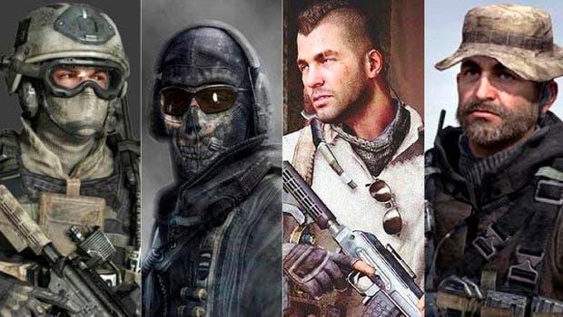 Un rumor desvelaría hasta cuatro proyectos basados en Modern Warfare con sus principales soldados 6