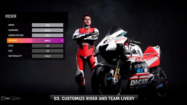 Nuevo tráiler de MotoGP 20 se centra en exponer las novedades del modo carrera 2