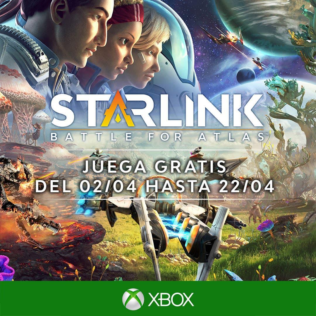 Juega gratis a Starlink Battle for Atlas en Xbox One hasta el 22 de abril