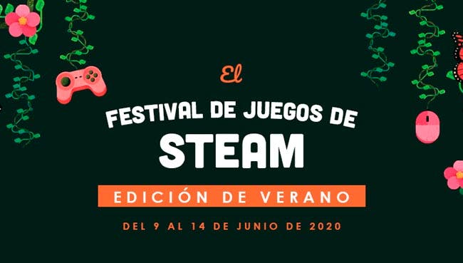 Steam presenta el Steam Game Festival de verano coincidiendo con las fechas del E3 2