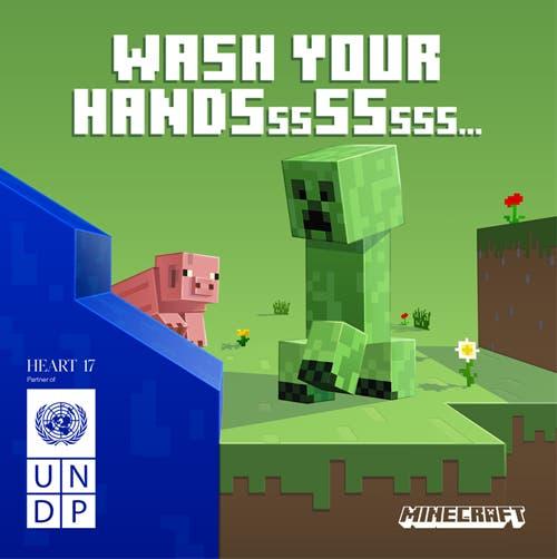 Minecraft concienciará sobre el COVID-19 en colaboración con la ONU