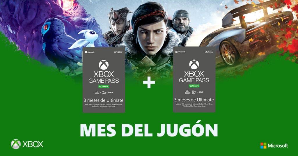 Nuevo Mes del jugón con increíbles ofertas en Xbox One X, Xbox One S y juegos